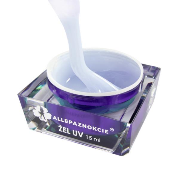 JELLY PEARL WHITE GLITTER GEL UV ALLEPAZNOKCIE 15ml