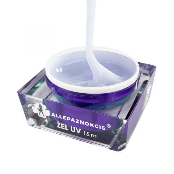 JELLY PEARL WHITE GLITTER GEL UV ALLEPAZNOKCIE 30ml
