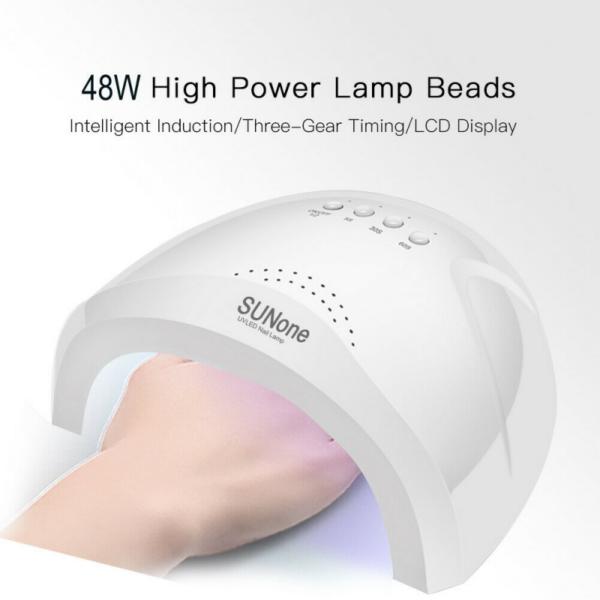 LAMPA UNGHII LED SUN ONE 48W USB - NEW MODEL