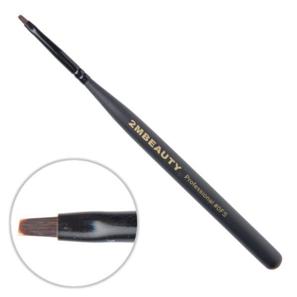 Pensula gel 2M Black Beauty nr. 0FS