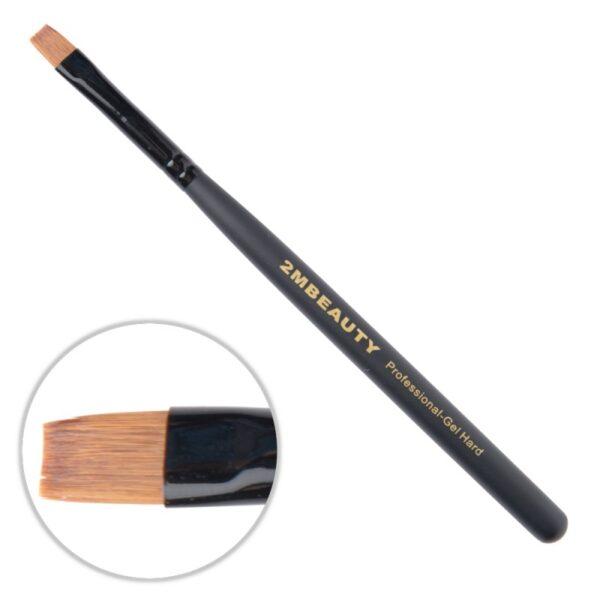Pensula gel 2M Black Beauty Hard