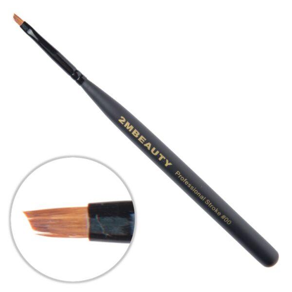 Pensula gel 2M Black Beauty OneStroke nr. 00