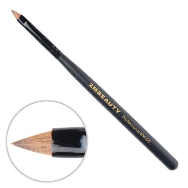 Pensula Acryl 2M Black Beauty Ascutit Nr. 06OS
