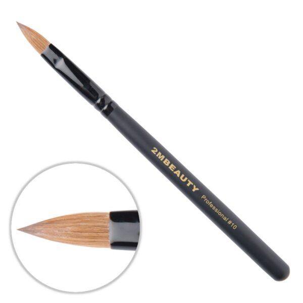 Pensula Acryl 2M Black Beauty Migdale Nr. 10