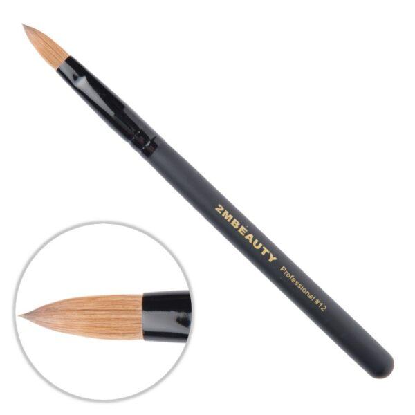 Pensula Acryl 2M Black Beauty Migdale Nr. 12