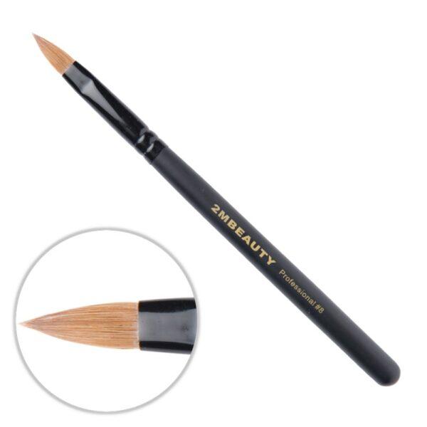 Pensula Acryl 2M Black Beauty Migdale Nr. 08